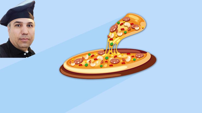 دوره برخط آموزش 7 مدل پیتزا آقای پرویز مقدم